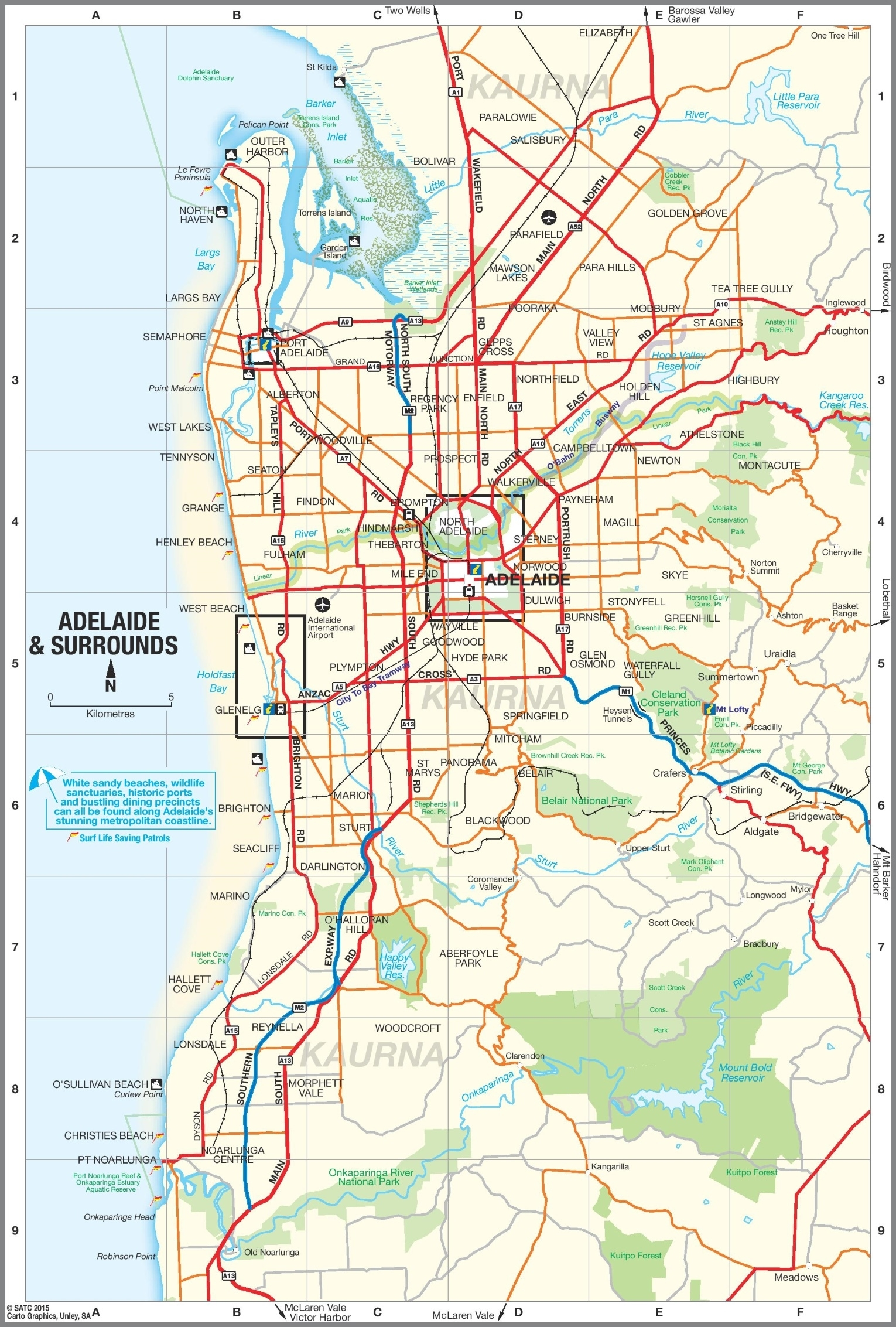 Adelaide Suburbs Map intended for Map Of Perth Australia Suburbs