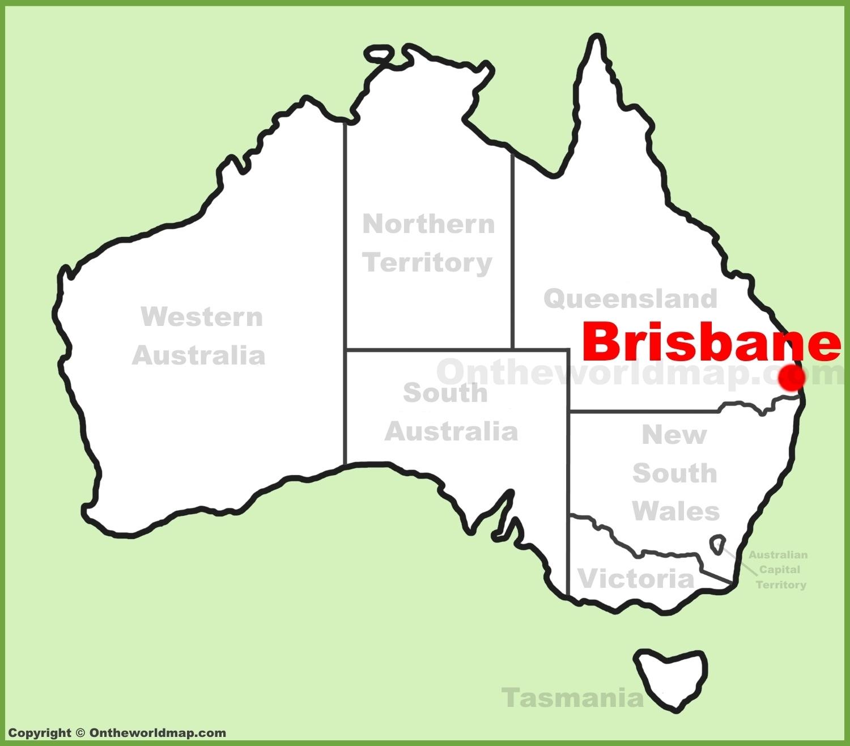 Brisbane Maps | Australia | Maps Of Brisbane intended for Brisbane Australia Map