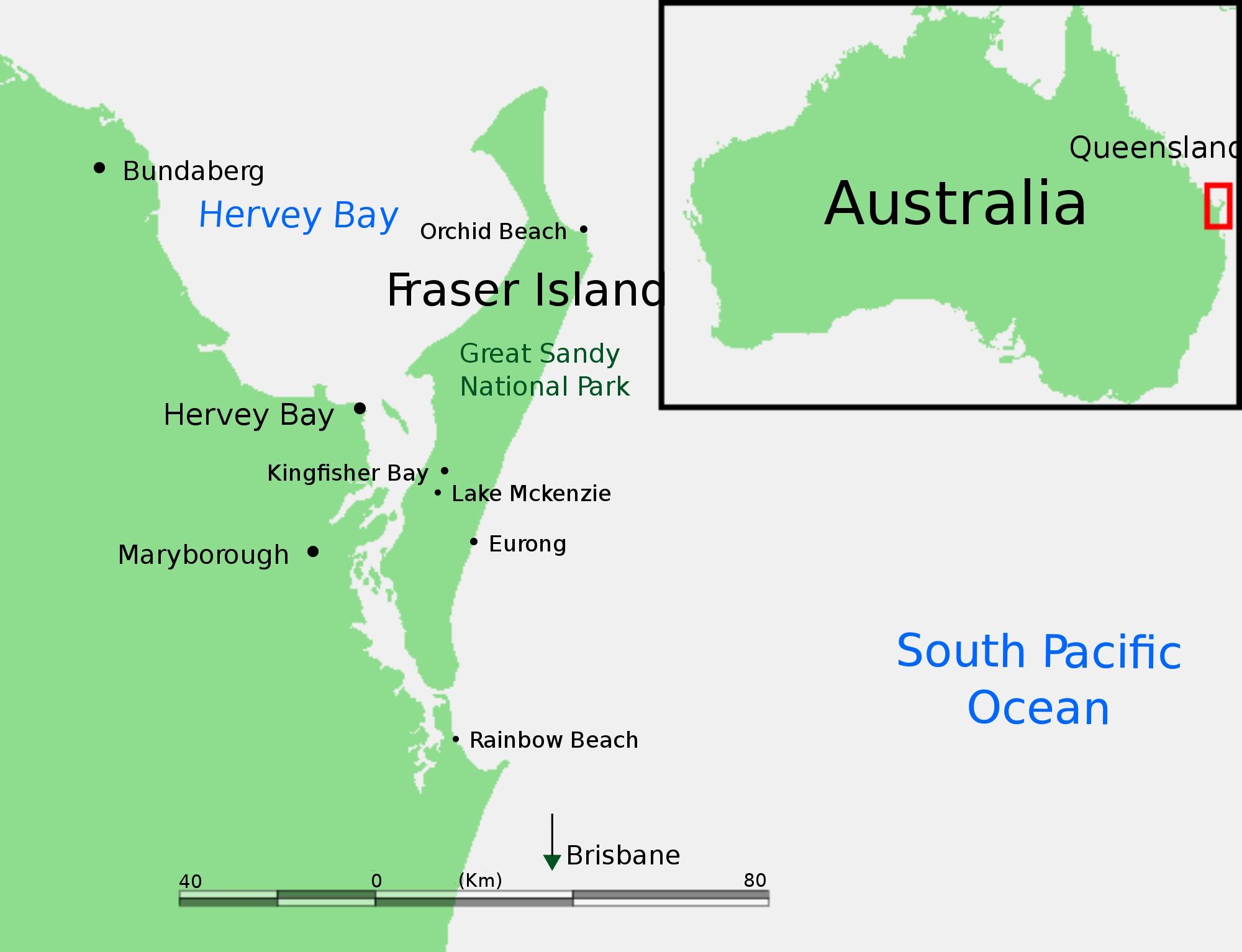 Datei:fraser Island Locator Map.svg – Wikipedia inside Fraser Island Australia Map