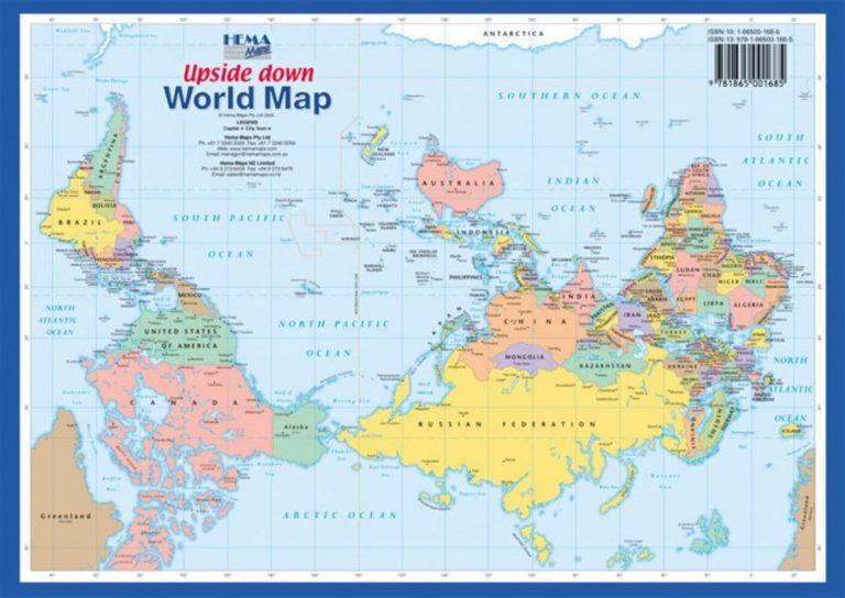 Mapamundi Australia E Nova Zelandia Archives Australia Map