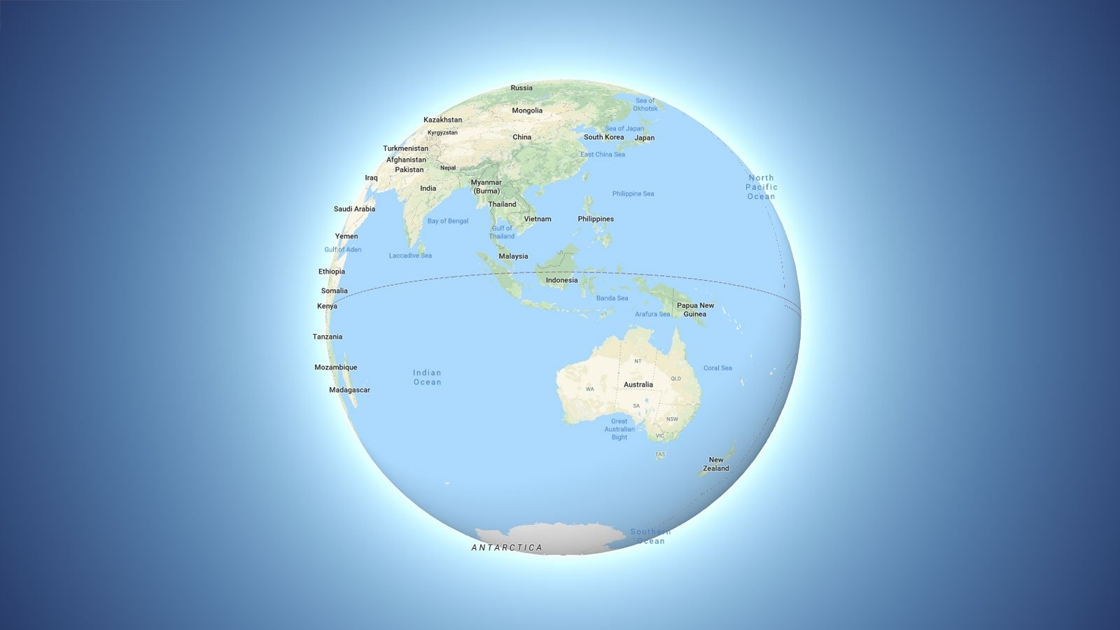 Google Maps Is Now Google Globe | Gizmodo Australia throughout Google Earth Maps Australia