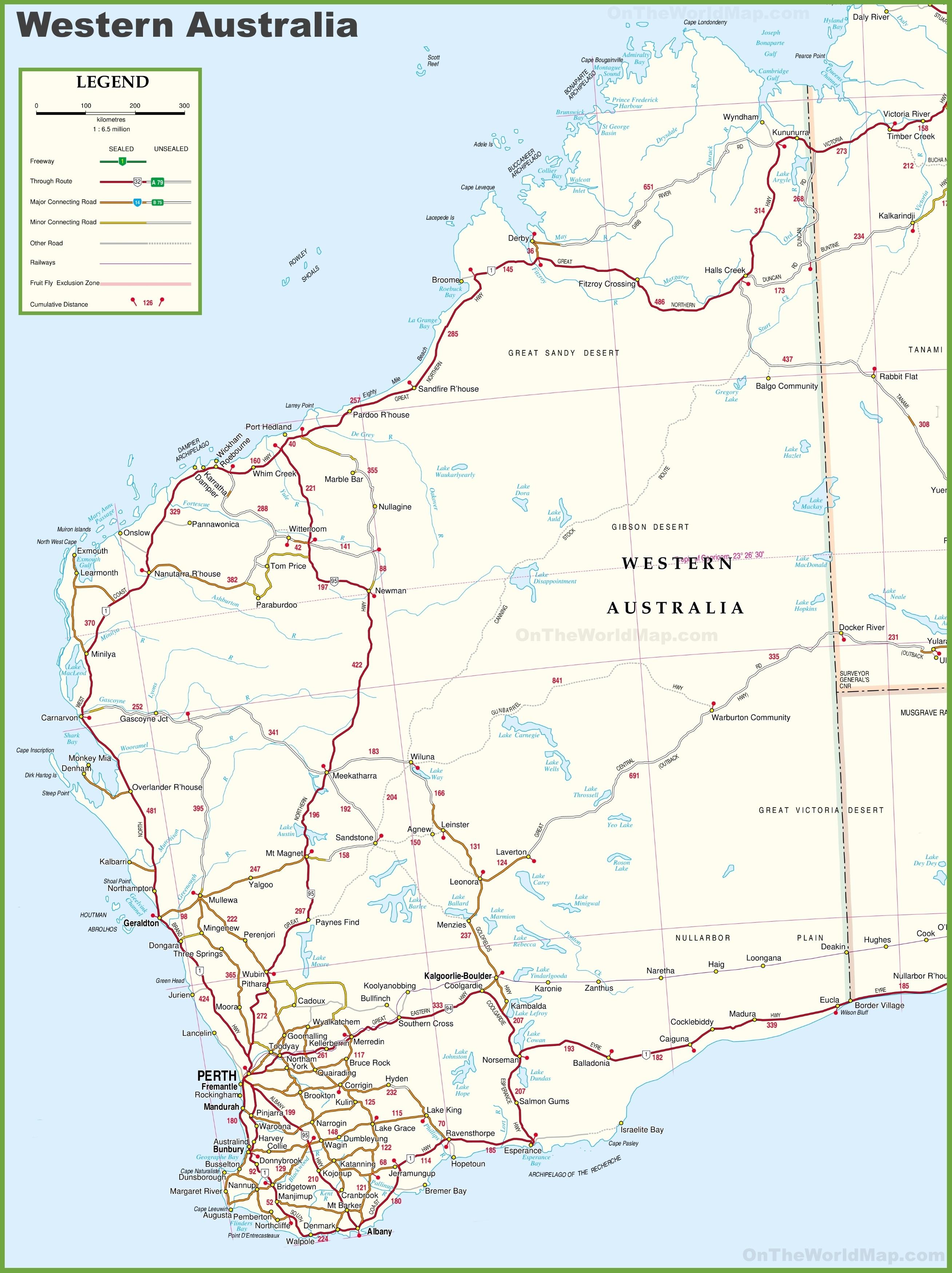 Map Australia East Coast Detailed.Map Of Australia With Cities Australia Map