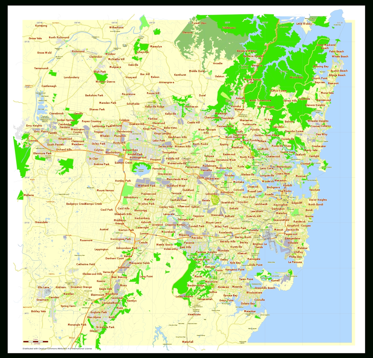 Sydney - Wikipedia throughout Map Of Perth Australia Suburbs