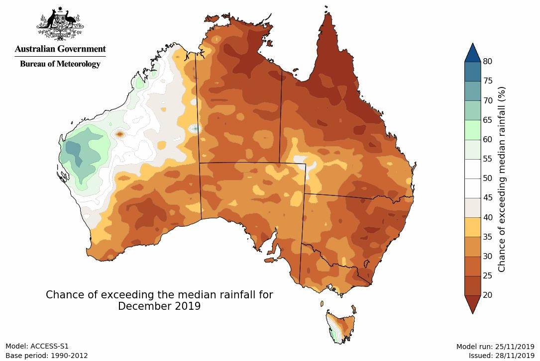 A Hot And Dry Australian Summer Means Heatwaves And Fire throughout Australia Fire Map Bom