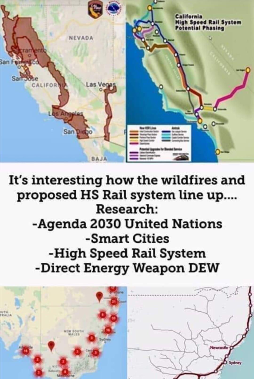"All I'm Hearing Is ""Poor Australia"" Which Is Fair, What I'm regarding Australia Fires Map Vs Train"
