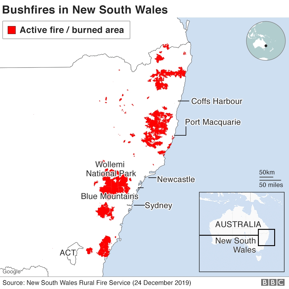 Australia Fires: A Visual Guide To The Bushfires And Extreme with Australia Fires Map Vs Amazon