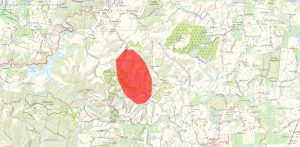 Emergency Warning Message - Cudlee Creek Issued 20 Dec 09:33 within South Australia Fire Emergency Map