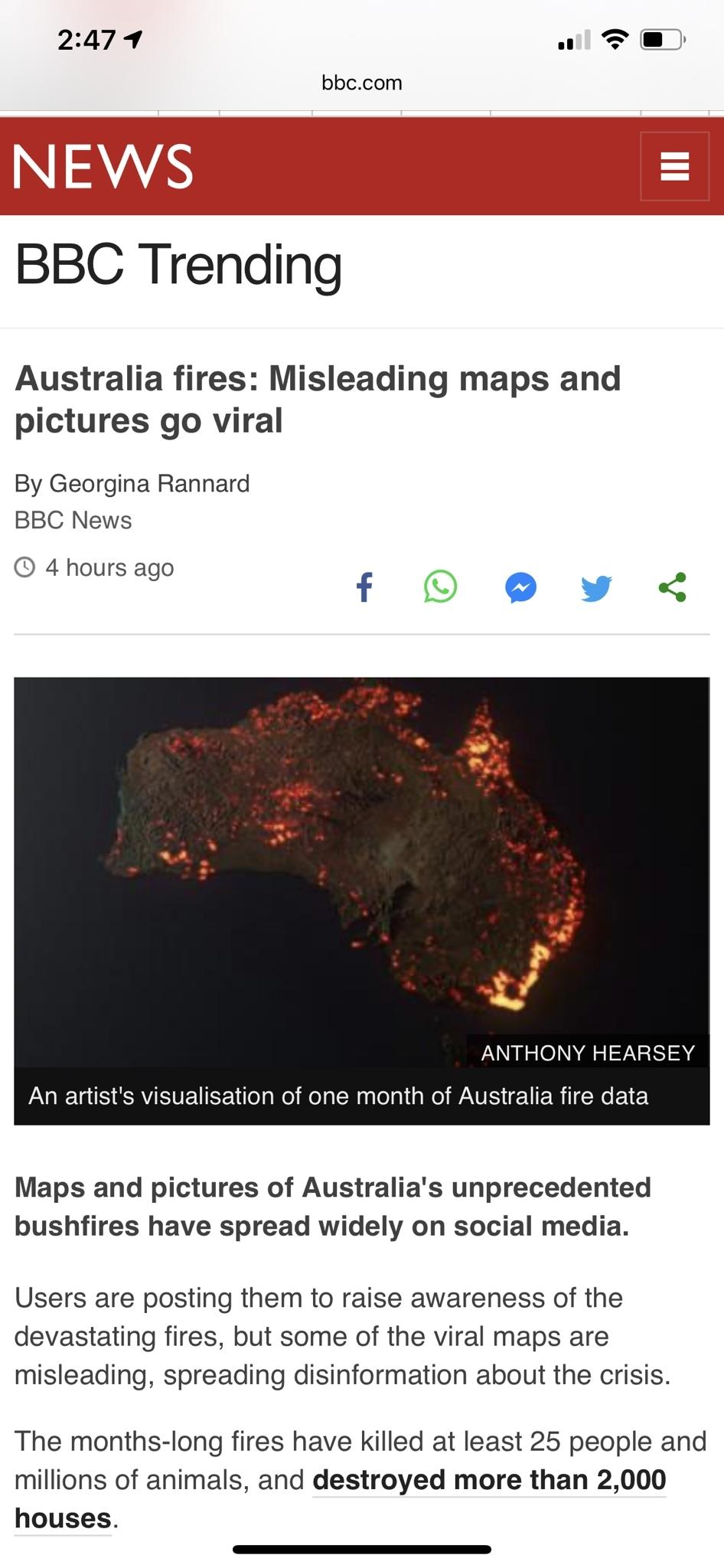 The Real Fire Map Of Australia. - Album On Imgur inside Australia Fire Map Real