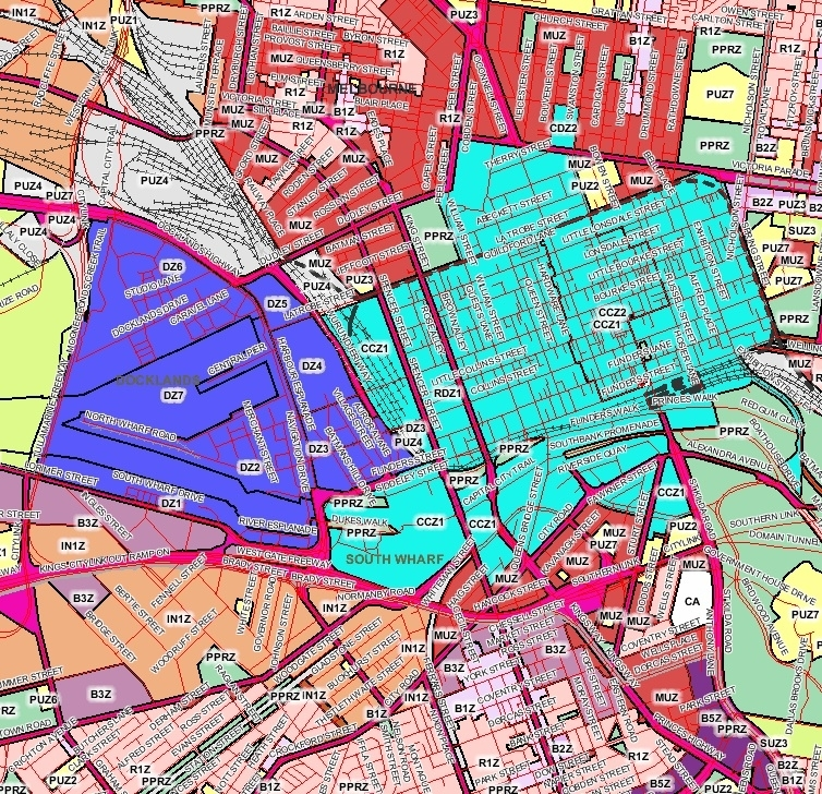 Build Up Or Beat Up? Some Belated Thoughts On Melbourne's throughout City Of Melbourne Area Map