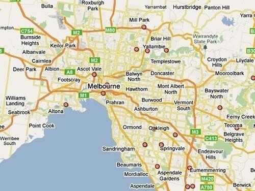 Cùng Tìm Hiểu Bản Đồ Thành Phố Melbourne Của Úc regarding Melbourne House Prices By Suburb Map