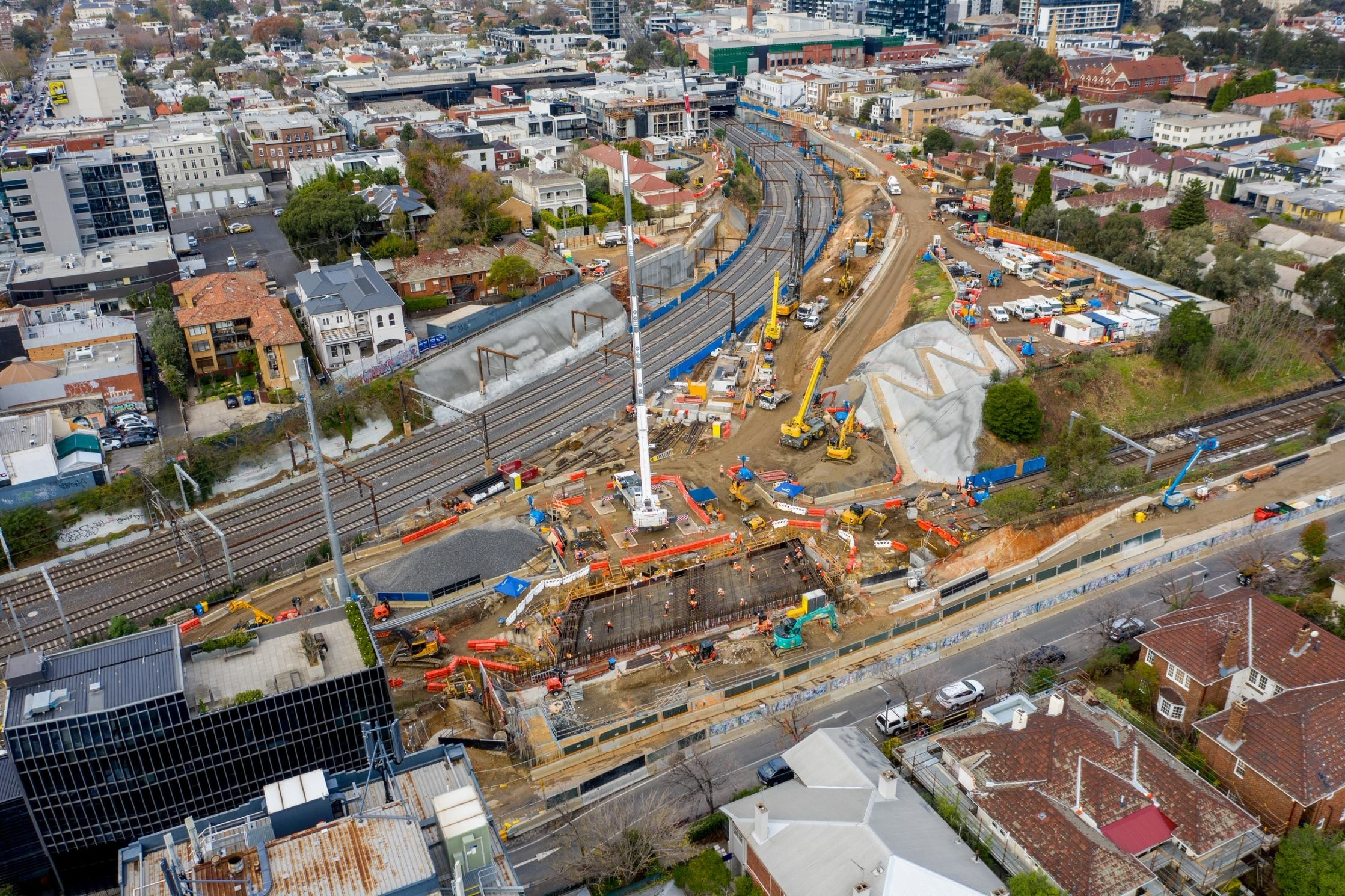 Eastern Tunnel Entrance Gallery | Construction In South intended for Melbourne Metropolitan Area Map 2020