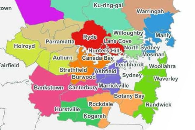 Forced Amalgamation Maps Of Doom Released: Nsw Council within Melbourne Greater Metropolitan Area Map