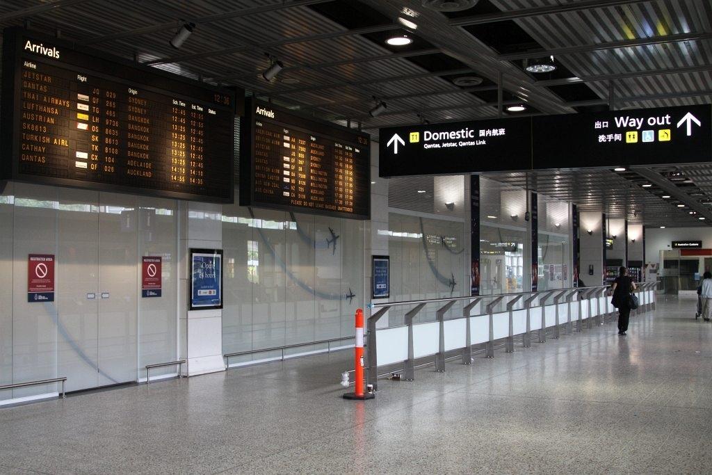 International Arrivals At Melbourne Airport Terminal 2 inside Melbourne Florida Airport Terminal Map