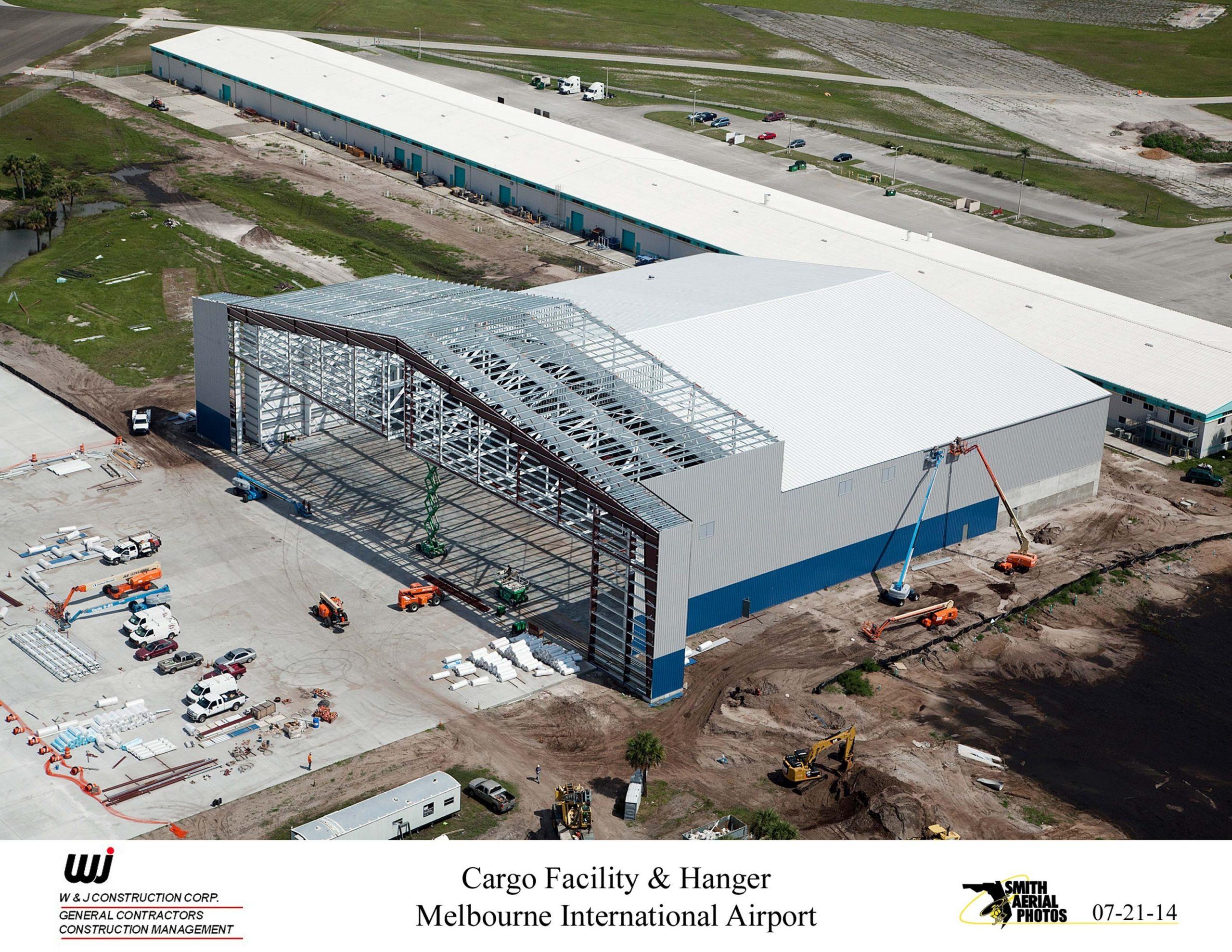 Melbourne Airport Cargo Facility & Hangar - W+J Construction inside Trs Facility Melbourne Airport Map