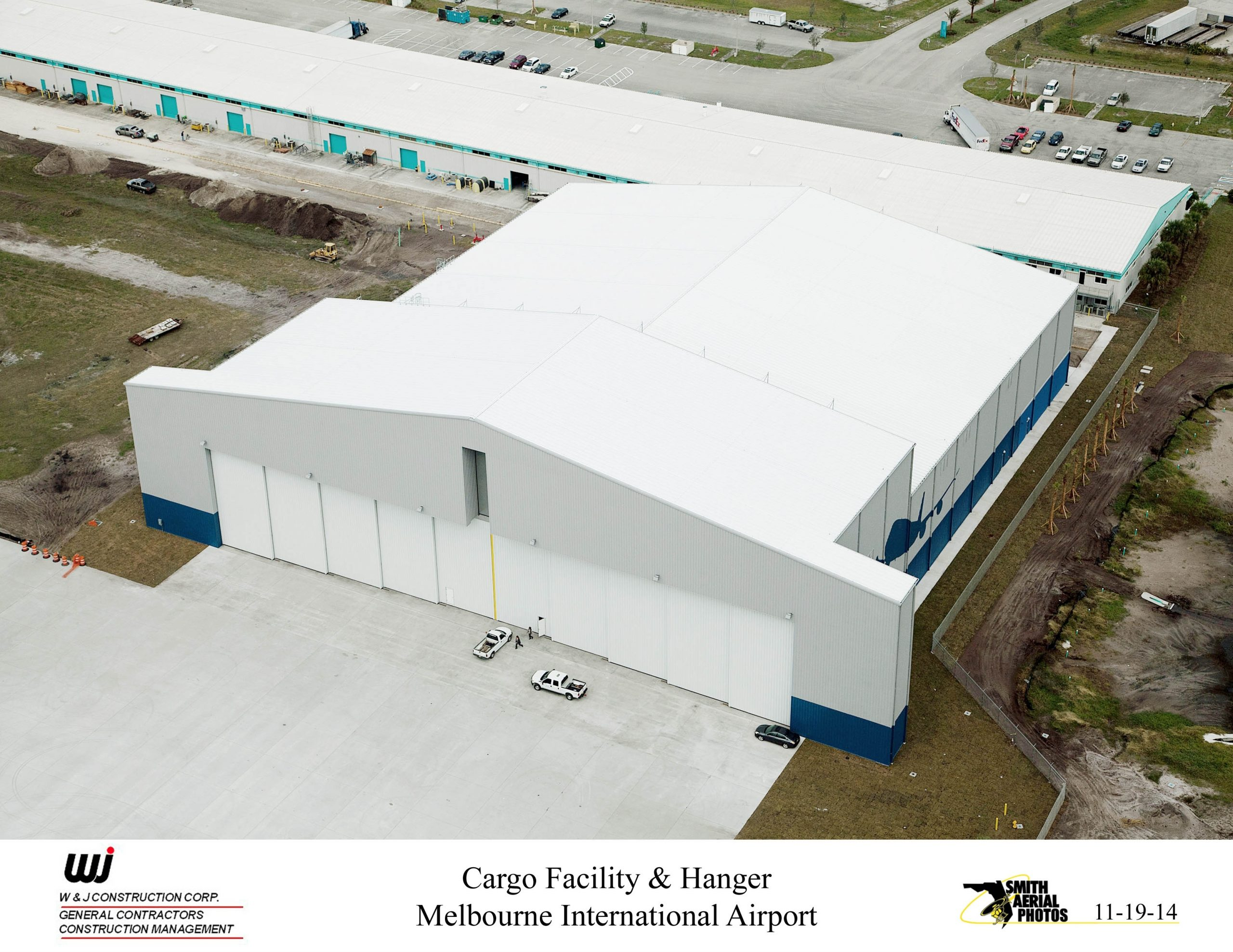 Melbourne Airport Cargo Facility & Hangar - W+J Construction pertaining to Trs Facility Melbourne Airport Map