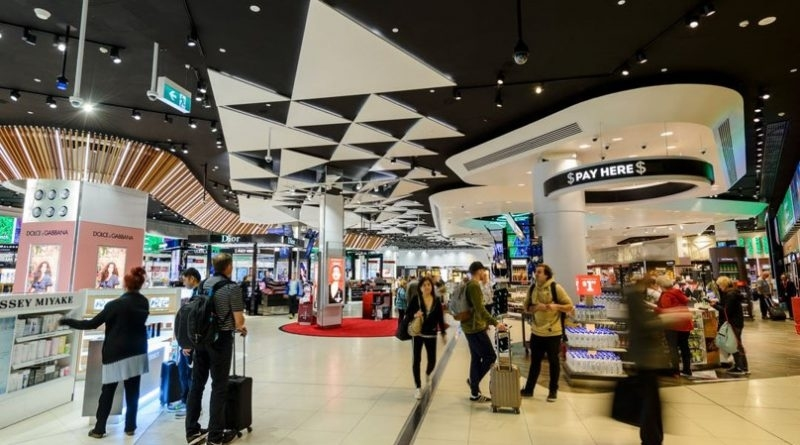 Melbourne Airport Corporation Plans Retail And Hospitality pertaining to Trs Facility Melbourne Airport Map