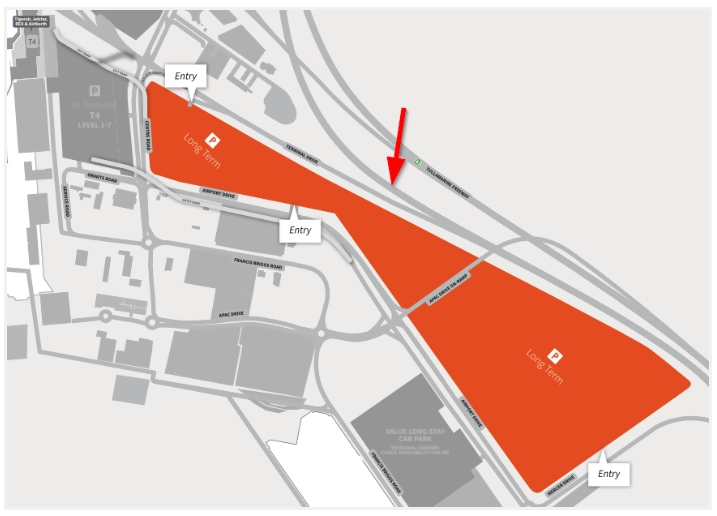 Melbourne Airport Parking Guide | Compare Off-Site Vs. On with regard to Melbourne Fl Airport Parking Map