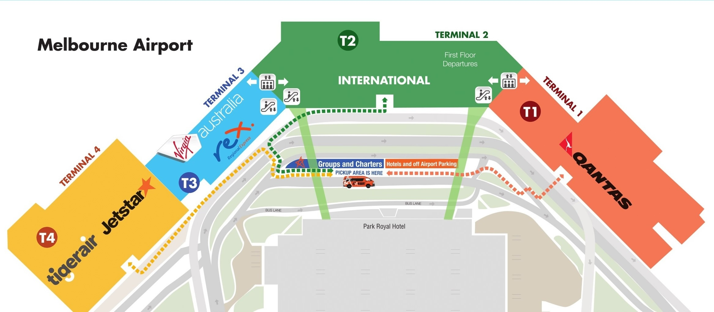 Melbourne Airport Shuttle   Starbus   Express Airport Shuttle regarding Melbourne Florida Airport Terminal Map