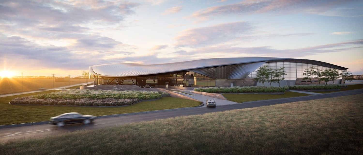 Melbourne Airport'S Private Vip Jet Terminal To Open In inside Trs Facility Melbourne Airport Map