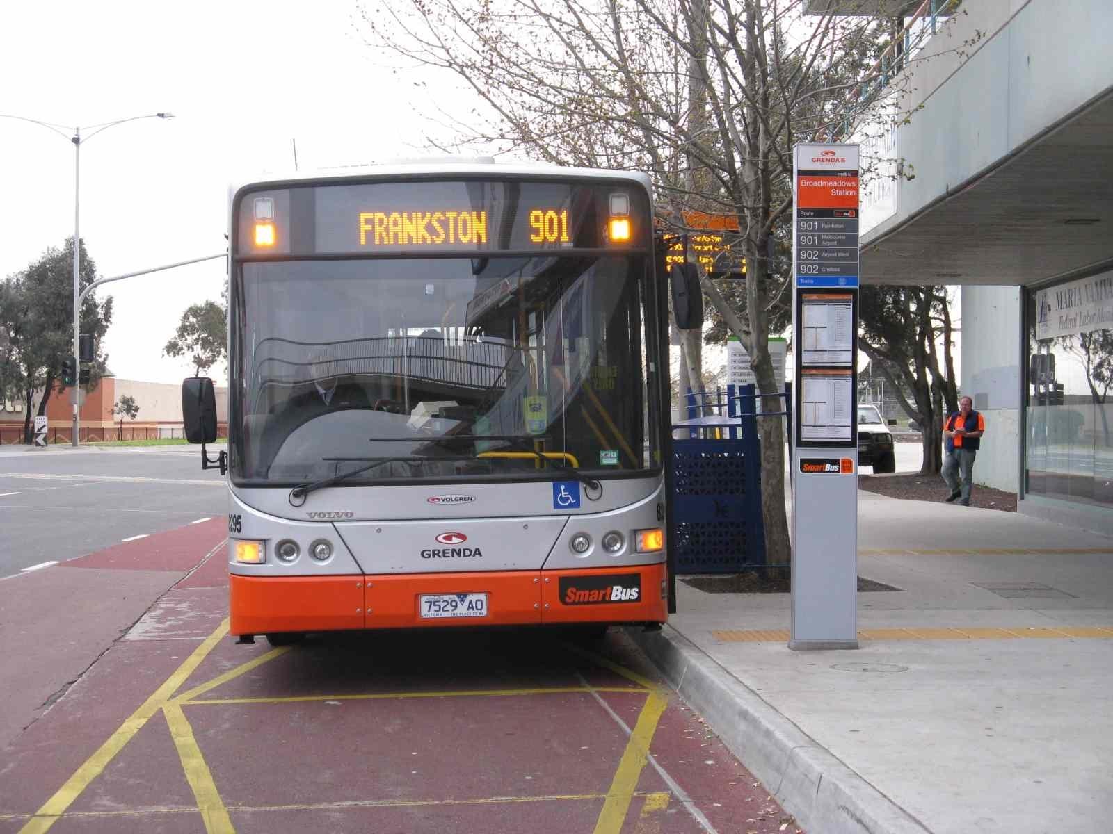 Melbourne On Transit regarding Bus 901 Melbourne Airport Map