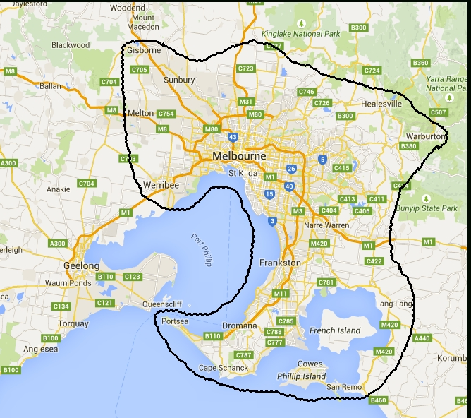 Melbourne Spa Owners   Spacoverman throughout Melbourne Metropolitan Area Boundary Map