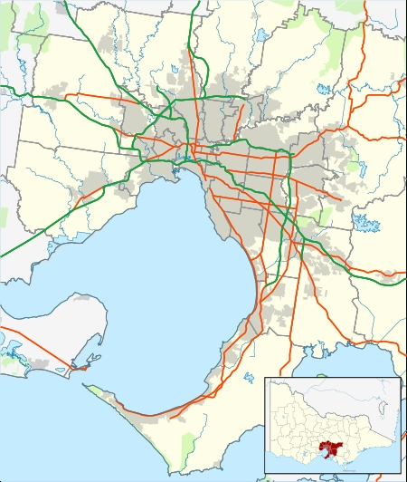 Nab League - Wikipedia intended for Melbourne Greater Metropolitan Area Map
